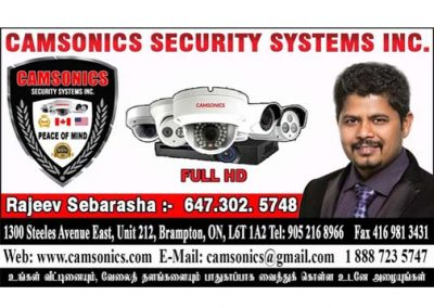 CAMSONICS SECURITY SYSTEMS