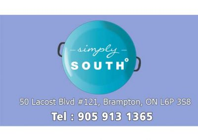 SIMPLY SOUTH RESTAURANT BRAMPTON